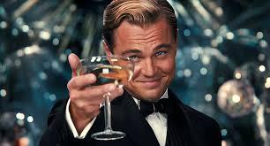 DiCaprio con copa