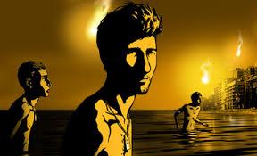 Manu Zapata_El cine (de estreno) fácil de leer_vivazapata.net_ los tres en el agua