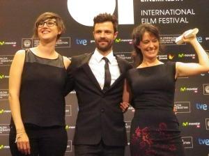 Aitor y Amaia Merino, directores de Asier ETA Biok - Asier y yo
