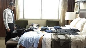 Clooney habitación de hotel