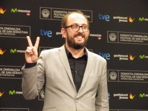 Borja Cobeaga, Premio Irizar al Cine Vasco por Negociador Foto; Manu Zapata