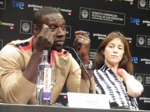 Omar Sy y Charlotte gainsbourg de Samba   Foto: Manu Zapata
