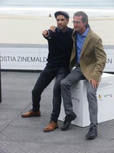 Pablo Malo y Unax Ugalde de Lasa y Zabala   Foto: Manu Zapata