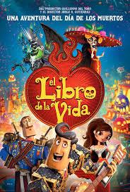 Manu Zapata_El cine (de estreno) fácil de leer_vivazapata.net_EL LIBRO DE LA VIDA cartel España