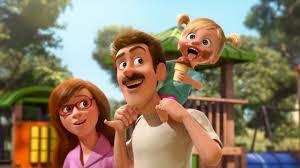 Manu Zapata_El cine (de estreno) fácil de leer_vivazapata.net_Del revés_Riley de niña con sus padres
