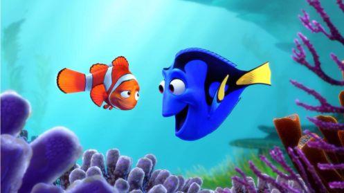 Manu Zapata_El cine (de estreno) fácil de leer_vivazapata.net_BUSCANDO A DORY_Dory y Nemo