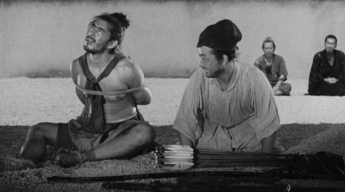 Manu Zapata_El cine (de estreno) fácil de leer_vivazapata.net_RASHOMON_Tajomaru declarando