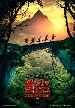 Manu Zapata_El cine (de estreno) fácil de leer_vivazapata.net_ZIPI Y ZAPE Y LA ISLA DEL CAPITÁN_cartel