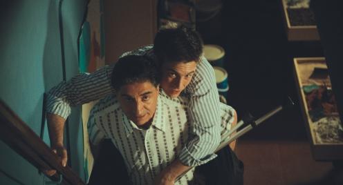 Manu Zapata_El cine (de estreno) fácil de leer_vivazapata.net_UNA HISTORIA DE LOCOS_Gregoire Leprince-Ringuet y Simon Abkarian