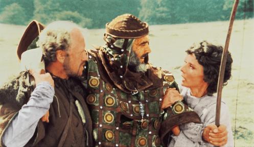 Manu Zapata_El cine (de estreno) fácil de leer_vivazapata.net_ROBIN Y MARIAN_Nicol Williamson, Sean Connery y Audrey Hepburn