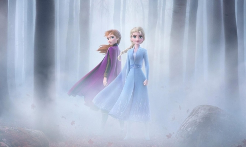 Elsa y Anna_Manu Zapata_El cine (de estreno) fácil de leer_vivazapata.net_FROZEN II