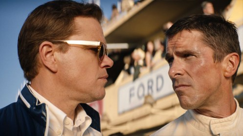 Matt Damon y Christian Bale_Manu Zapata_El cine (de estreno) fácil de leer_vivazapata.net_LE MANS 66