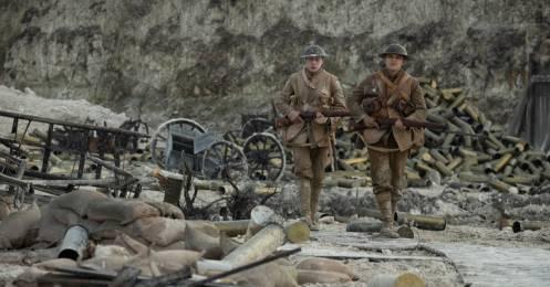 Dean-Charles Chapman y George MacKay_Manu Zapata_El cine (de estreno) fácil de leer_vivazapata.net_1917